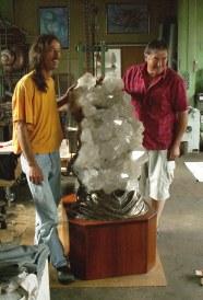 300 kg Schweizer Kristall