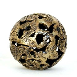 Kugel in Bronze