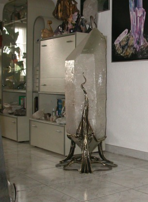 Doppelender Kristall 320 kg