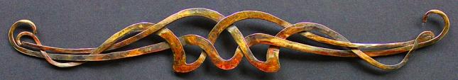 3 Teile geflochten Chromstahl Probst Art (1)