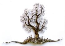 Der Ahnenbaum, Höhe 1.1 m