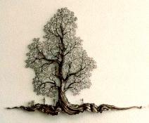 Baum mit 2000 Blättern