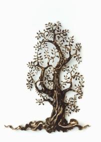 einer der ersten Bäume Skulpturen 1979