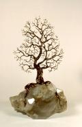 Baum auf Kristall