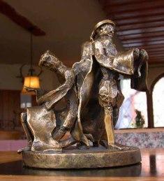 Merine erste Bronze Skulptur, 1969