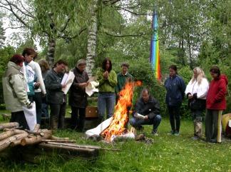 Das Feuer zur Transformation dunkler Malergebnisse