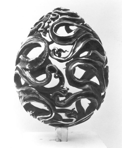 Die Ei Skulptur 1979