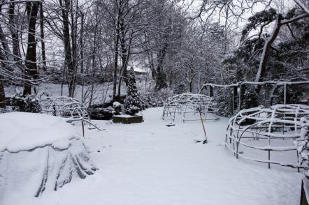 Schwitzhütten im Winter (1)
