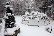 Schwitzhütten im Winter (3)