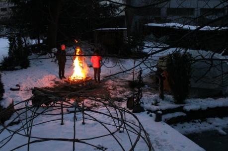 Schwitzhütten im Winter (5)